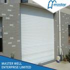 Steel security roller garage door