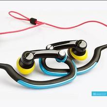 Popular sporting hook earphone neckband headphone