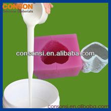 Molding silicone rubber for gypsum cornice
