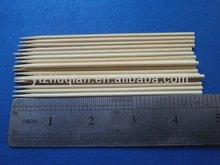 Desechable retráctil de bambú pinchos de metal