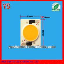 12w sharp cob led chip 3 years waranty epistar chip(China manufacture)