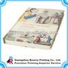 Custom matt lamination hardcover book withe sewing binding