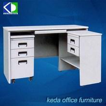 Powder Coated Executive Office L Desk For Supermarket