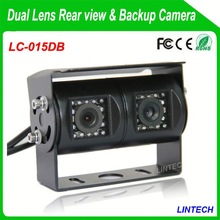 China supplier dual lens blind spot assist system mirror for trucks