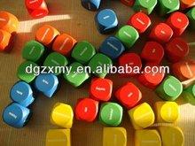 Letters on Wooden Blocks