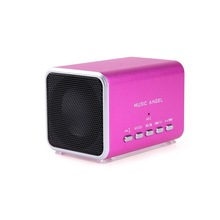 cell phone speaker and microphone Loudspeaker music angel mini speaker box wall mount speaker phone