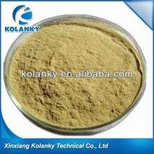 High molecular compound sulfonated phenolic resins