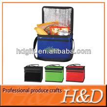 Picnic/sport pack Aluminum foil nonwoven thermal travel bag