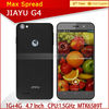 "Jiayu G4 Smart Phone 4.7"" IPS Gorilla MTK6589T Quad Core Android 4.2 3g wifi gps mobile phone"
