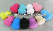 oval shape face cleaning puff/cosmetics sponge