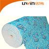 Nontoxic anti slip pvc foam mat printed pvc plastic carpet roll