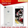 3000 mah mtk6589t orijinal Jiayu g4 dört çekirdekli telefonu 2014 yeni model android cep telefonu