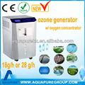 Increíble! Multi- función del hotel purificador de agua de la capa de ozono 28g/h la eliminación de olor