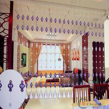 China 2014 fashion beaded curtain/kitchen beaded curtain