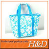 Gravure print polyester tote picnic pack thermal insulated bags