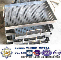 perforated metal sheet for griddle box