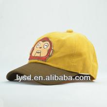 kids cartoon baseball caps hats monkey rabbit outdoor visor snapback caps hats