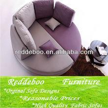 Low safe modern round sofa design for children 2112#