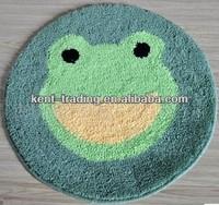 acrylic plush rug acrylic round mat acrylic cartoon rug