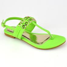 Popular ankel flat 2013 new design sandals
