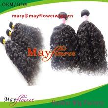4 virgin brazilian full head human hair weaves loose curl fashion women cosplay/salon