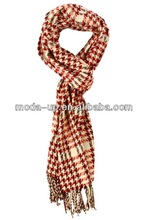 knit thick plaid scarf for sale