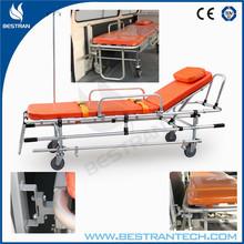BT-TA007 hospital medical Aluminum ambulance cot