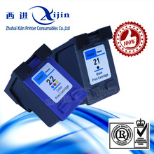 HOT!! for HP 22 ink cartridge, ink cartridge for HP 22,remaufacture