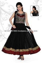 ANARKALI LONG KAMEEZ CHURIDAR