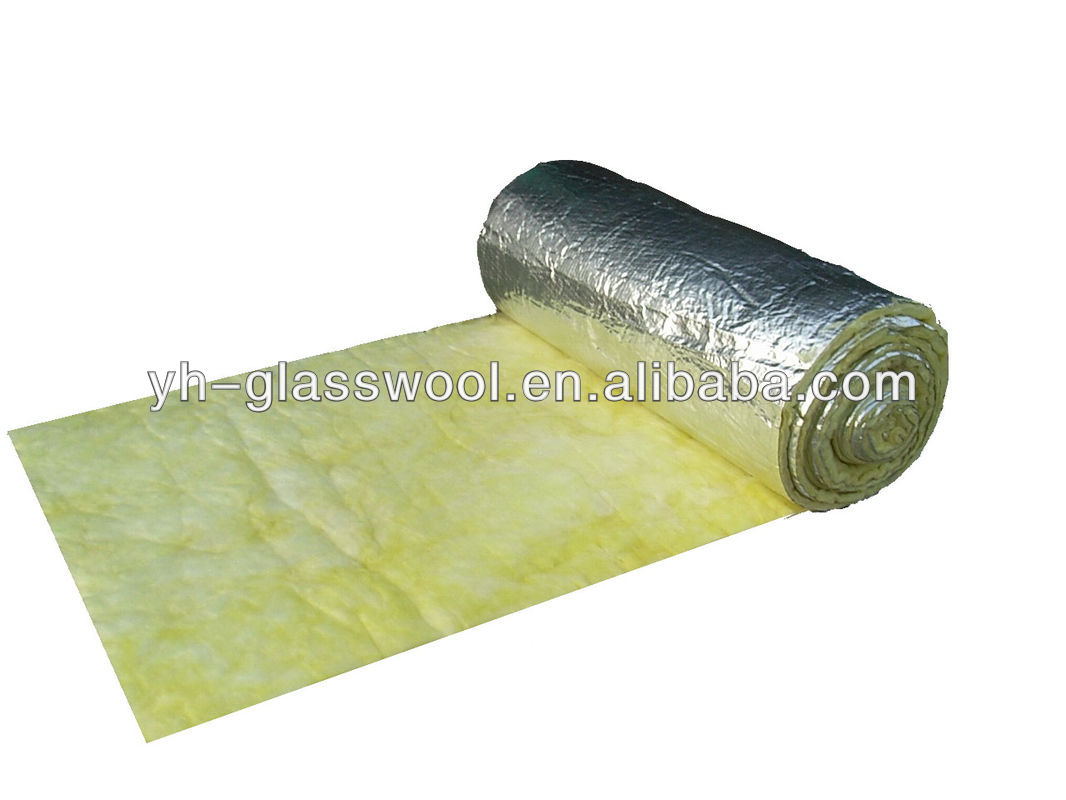 24kg M3 25mm Thickness Glass Wool Blanket Thermal
