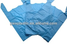 PLASTIC BAGS CARRIER BLUE