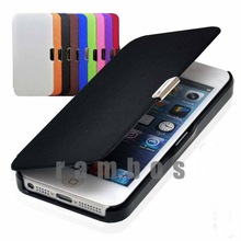 Flip Cover Cell Phone Leather Skin Case for iPhone 5s