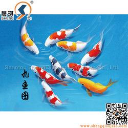Fish Design 3D Plastic Pictures