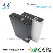2014 new arrival for 3.5 inch hdd NAS box