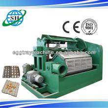 auto egg box molding machine/big egg tray machinery/old newspaper egg carton plant