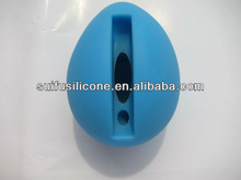 egg shape silicone amplifier phone stand