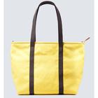 Yellow Cotton Canvas Tote Shop Bag