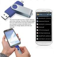 New design super Android 2.0 OTG USB flash drives,plastic USB flash memory disk bulk cheap