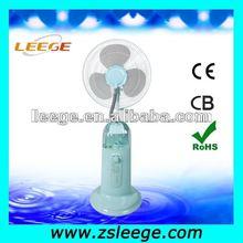 portable pedestal water spray fan