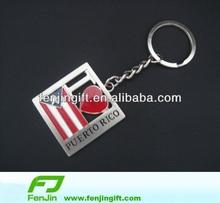 American custom souvenir metal keychain