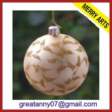 2014 hot sale christmas decoration glass christmas balls names round ball christmas lights wholesale