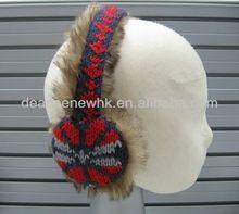 Knit Jacquard earmuff