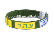 anpassen ländernamen und Flagge armbänder für Weltmeisterschaft brasilien 2014