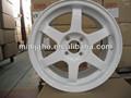 Branco volante momo, 17 X 7 polegada aro de roda de liga