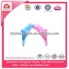 2014 new toys soft bath toy dolphin
