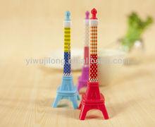 Wholesale creative tower ball pen business promotional gel ball pen