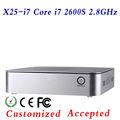 Pequeño tamaño de los juegos de pc thin computing pequeño tamaño de los juegos de pc más pequeño espacio, energía x25-i7 2600s soporte de pantalla táctil