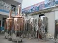 Chaude machine de fabrication de bière 2013 classicquallity/réservoir utilisé brasserie de cuivre rouge