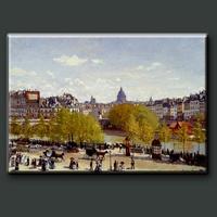 High Quality Quai du Louvre by Famous Artist Claude Monet Oil Painting