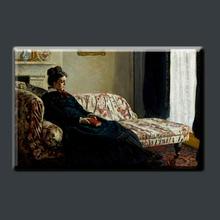 Beautiful Madame Gaudibert by Famous Artist Claude Monet Decorative Painting